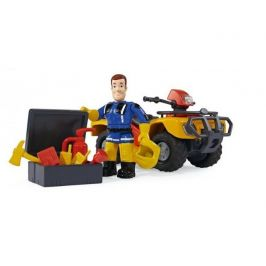 Simba Požárník Sam - Mercury čtyřkolka s figurkou