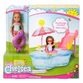 Mattel Barbie Víla Chelsea a doplňky bazén