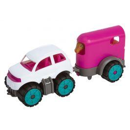 BIG Power Mini Auto s přívěsem pro koně