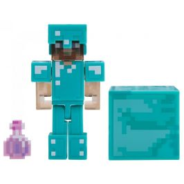TM Toys Minecraft Figurka Steve s elixírem neviditelnosti