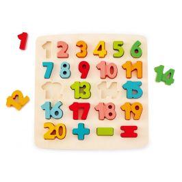 Hape Puzzle číslice