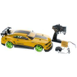 Teddies Auto RC drift žluté 40cm, 27MHz