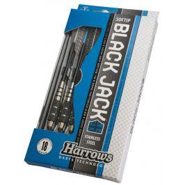 Harrows Šipky Black Jack soft 20 g K