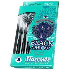 Harrows Šipky Black Arrow steel 23 g K