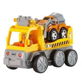 Revell Autíčko 23003 - Tow Loader with excavator