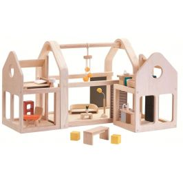 Plan Toys Přenosný domek pro panenky