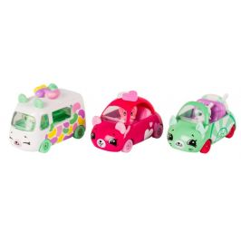 ADC Blackfire Shopkins S8 Cutie cars 3 pack - Candy Combo