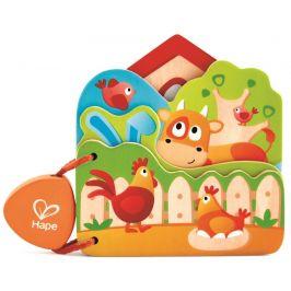 Hape Baby knížka Farma
