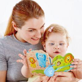 Hape Baby knížka Divočina