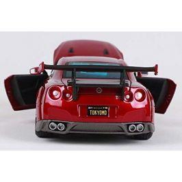 Maisto Nissan GT-R - červená