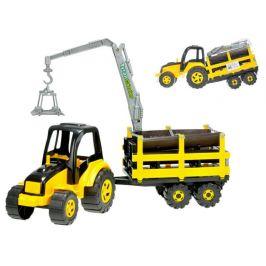Mikro hračky Traktor s vlekem TytanCarrier 70cm