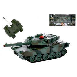 Mikro hračky RC tank 16,5cm 1:32 27MHz na baterie