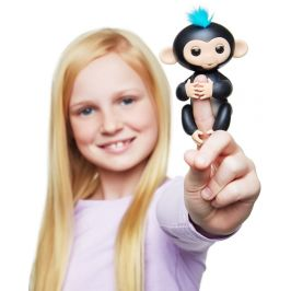 WowWee Fingerlings -Opička Finn černá