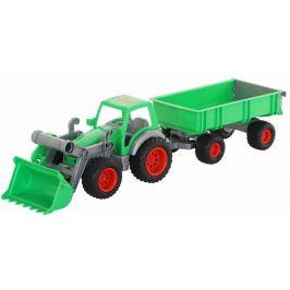 Wader Traktor Farmář s lopatou a přívěsem 2 osy