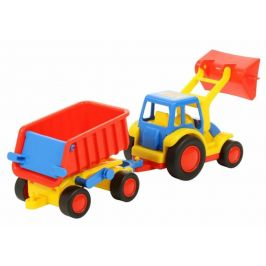 Wader Traktor Basic s přívěsem
