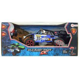 Teddies Auto RC buggy modré plast 28cm s dálkovým ovládáním