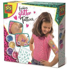 SES Módní tetování s třpytkami