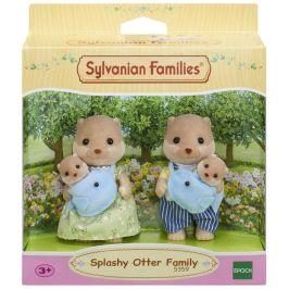 Sylvanian Families Rodina vydry se 2 miminky