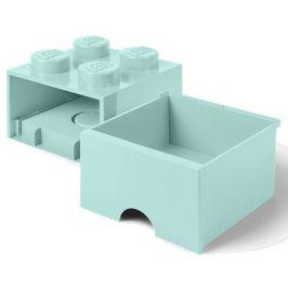 LEGO Úložný box 4 s šuplíkem aqua
