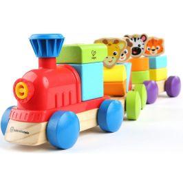 Hape Baby Einstein Hračka dřevěná Discovery Train