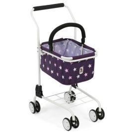 Bayer Chic Nákupní vozík s košíkem Hvězdičky