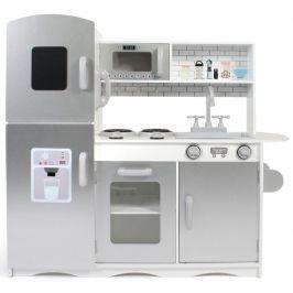 Bayer Chic Dřevěná kuchyňka šedobílá