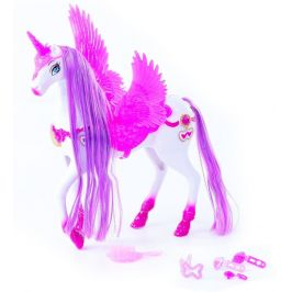 Rappa Kůň česací s křídly 34 cm, zvuk, světlo