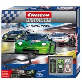 Carrera Autodráha D132 30007 GT Triple Power