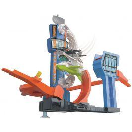 Hot Wheels City tryskáč na letišti
