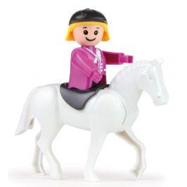 LENA Truxx Koňský transport s figurkou