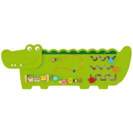 Viga Dřevěná nástěnná hra krokodýl 91cm