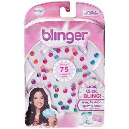 Blinger: Diamantová kolekce náhradní náplň 75 kamínků barevné