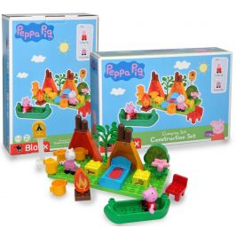 BIG PlayBig BLOXX Peppa Pig Kempingová sada