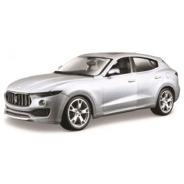 BBurago Maserati Levante 1:24 stříbrná