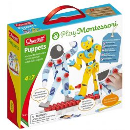Quercetti Puppets nuts & bolts puppets – postavičky se šroubky a matičkami