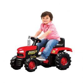 DOLU Velký šlapací traktor, červený - rozbaleno