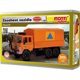 VISTA Stavebnice Monti 74 Tatra 815 zásahové vozidlo 1:48