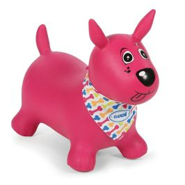 Ludi Skákací pes růžový - rozbaleno