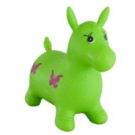 Teddies Hopsadlo kůň skákací gumový zelený 49x43x28 cm v sáčku - zánovní