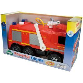 LENA Mercedes požární auto - rozbaleno