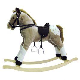 Bino Puntík-houpací kůň, plyš, maxi - zánovní