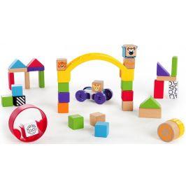 Hape Baby Einstein Hračka dřevěná stavebnice Curious Creations Kit