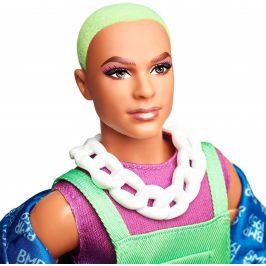 Mattel Barbie BMR1959 Ken se zelenými vlasy módní deluxe