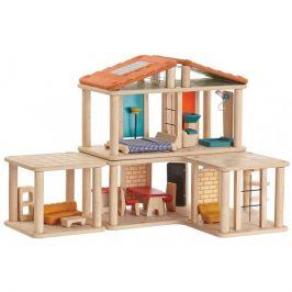 Plan Toys Kreativní domek pro panenky - rozbaleno