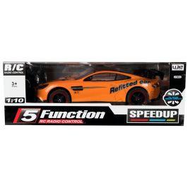 Teddies Auto RC oranžové zrychlující 40cm, 27MHz - rozbaleno
