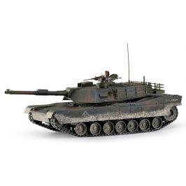 Hobby Engine RC Tank - M1A1 Abrams 1:16, 2.4GHz, patinovaný - rozbaleno