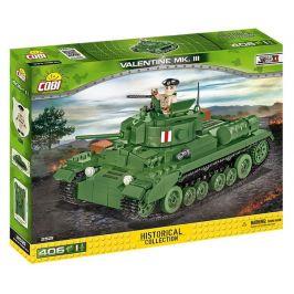 Cobi 2521 Small Army II WW Infantry Tank Mk. III Valentine
