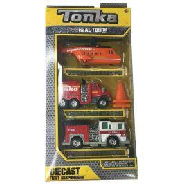 Tonka sada autíček – hasiči