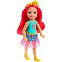 Mattel Barbie Pohádková Chelsea červené vlasy
