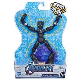 Avengers figurka Bend and Flex Black Panther